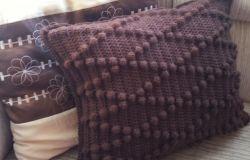 Poduszka z gropszkami HandMade ;))