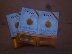 chusteczki samoopalające dax sun