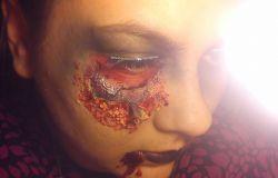 Mój Halloween'owy Makijaż.