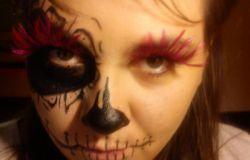 Drugi Halloween'owy makijaż