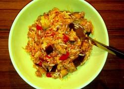 Kociołek prowansalski z ryżem