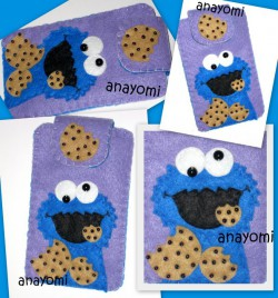 futerał cookie monster