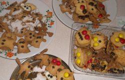 Ciasteczka Halloweenowe- Ozdoby stołu(przepis)
