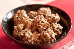 Dwuskładnikowe ciasteczka owsiane