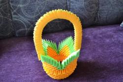 Koszyczki z origami :)
