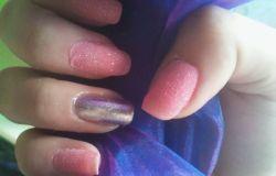 Moje paznokcie :)