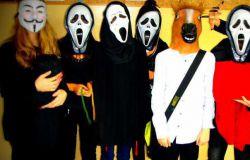 psikusy na Halloween w pracy -szkole