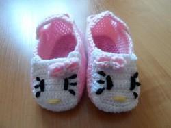 Hello Kitty - Kapcie dla dziewczynki