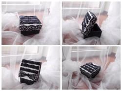 Koronkowe pudełeczko na drobiazgi
