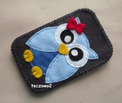 132. Błękitna sowa