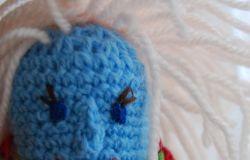 Szydełkowa lalka dla Pumy