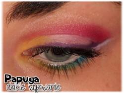 Lekcja makijażu: papużkowy makijaż