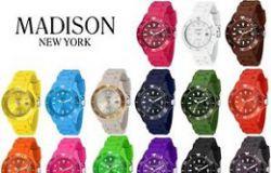 Kolorowy zegarek na jesień.