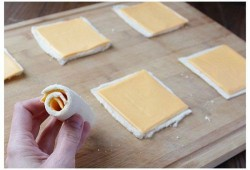 BARDZO tanie jedzenie - Cheese rolls