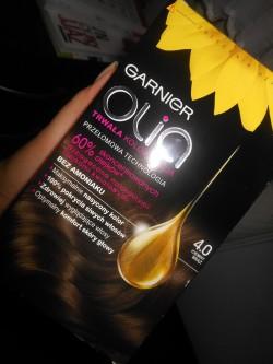Garnier Olia-efekty farbowania:)