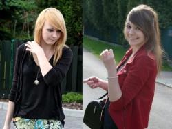 Zmiana kolorku brązu na blond