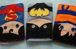 songo, batman i super man- futerały na telefon