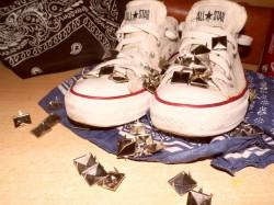 converse + diy ? :)