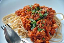 dietetyczne spaghetti