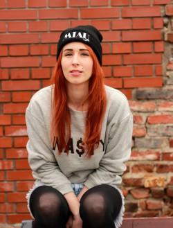 nike air max, nasty sweatshirt and urban flavours miau beanie