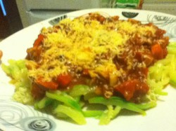 spaghetti na diecie :)