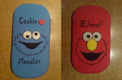Cookie Monster & Elmo