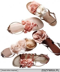 Letnie sandałki - inspiracje