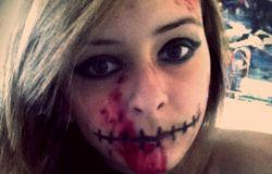 Prosty makijaż na Halloween