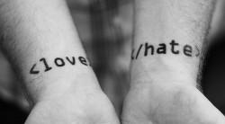 miłość i nienawiść?