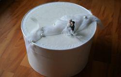 pudełko ślubne DIY :D