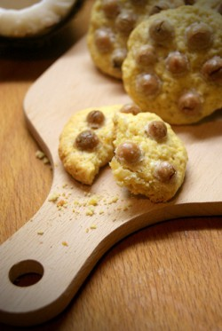 Kokosowe ciasteczka z drażetkami