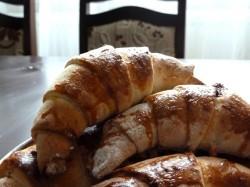 Croissanty z Czekoladą