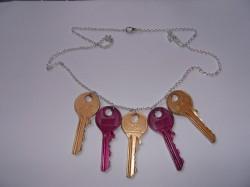 Naszyjniki z kluczy