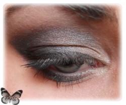 Lekcja makijażu - black smokey eyes