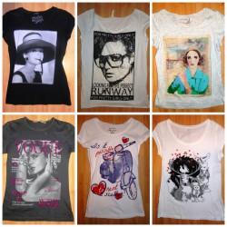 T-shirty - moja miłość
