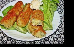 Paluszki z kalafiora i ziemniaków z serem