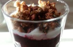 Deser jogurtowy dla MŻ ;)