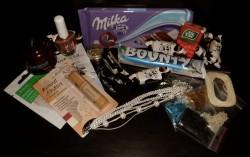 Zimowe paczki i prezenty - dziś dostałam!