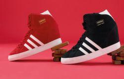 Sneakersy Adidas na koturnie