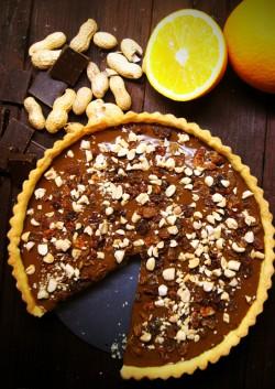 Tarta czekoladowa z bakaliami - dla łasuchów !