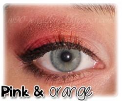 "Pink & orange - wiosenny makijaż ze Sleek ""Respect"""