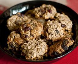 Ciasteczka owsiane bez cukru i tłuszczu