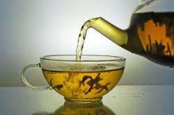 zielona herbata omomom!
