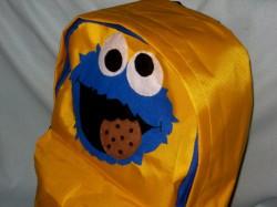 plecak cookie monster ciasteczkowy