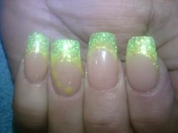 Zielono-żółte neonki