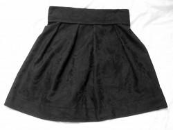czarna spódnica DIY