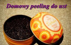 Domowy peeling do ust