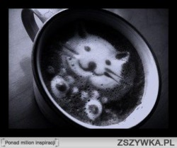 Cuda w filiżance kawy