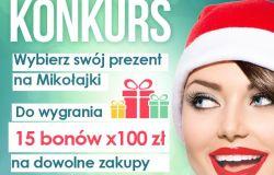 Prezent na Mikołajki - wygraj i wybierz dowolny kosmetyk!