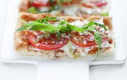 Tarta z pomidorem i mozzarellą